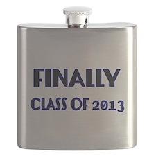 Finally-Class of 2013 Blue Flask