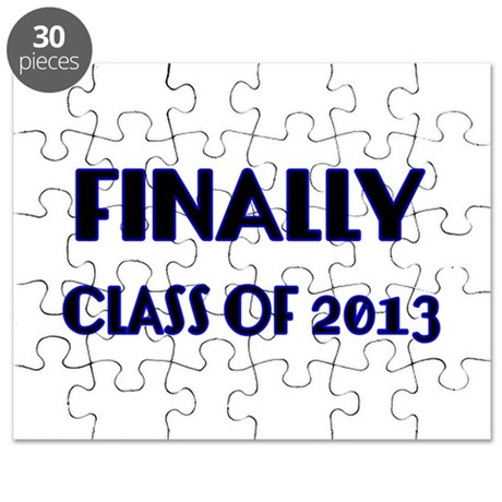 Finally-Class of 2013 Blue Puzzle