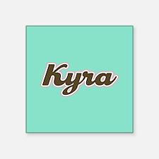 Kyra Aqua Sticker