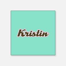 Kristin Aqua Sticker