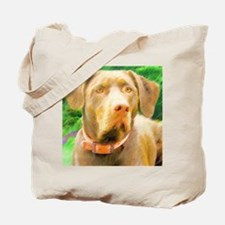 Classic Chocolate Lab Tote Bag