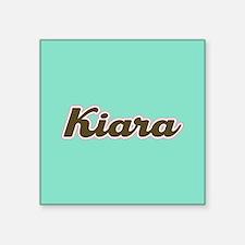 Kiara Aqua Sticker