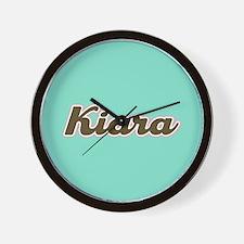 Kiara Aqua Wall Clock