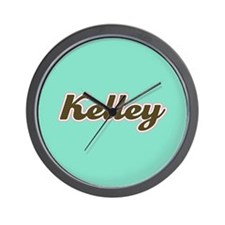 Kelley Aqua Wall Clock
