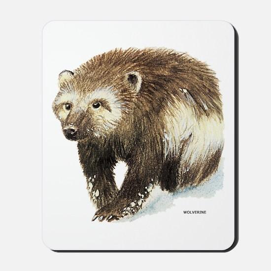 Wolverine Animal Mousepad