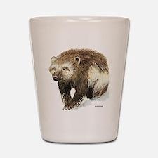 Wolverine Animal Shot Glass
