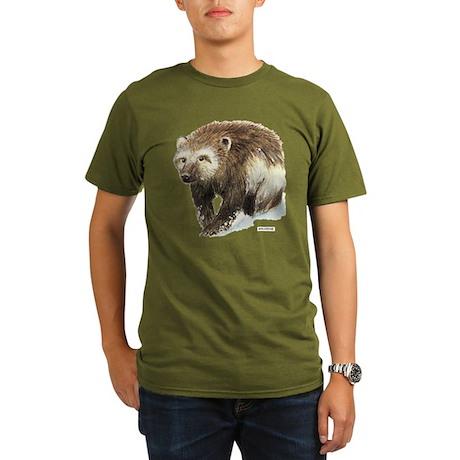 Wolverine Animal Organic Men's T-Shirt (dark)
