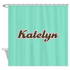 Katelyn Aqua Shower Curtain