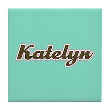 Katelyn Aqua Tile Coaster