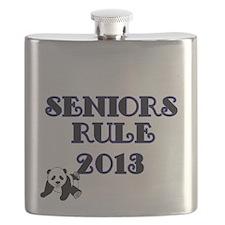 SENIORS RULE 2013-with Panda Flask