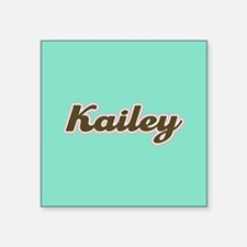 Kailey Aqua Sticker