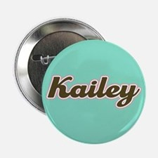 "Kailey Aqua 2.25"" Button"