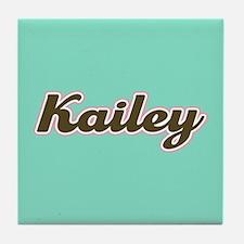 Kailey Aqua Tile Coaster