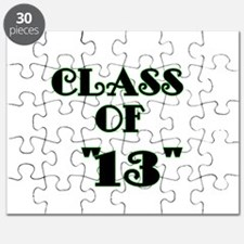 Class of 13 -lime green Puzzle