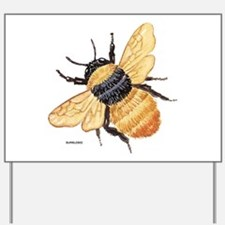 Bumblebee Insect Yard Sign