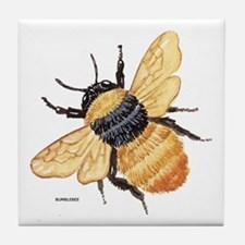 Bumblebee Insect Tile Coaster