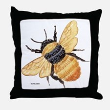 Bumblebee Insect Throw Pillow