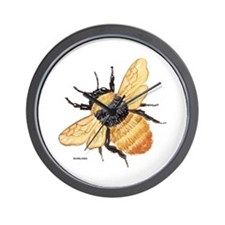 Bumblebee Insect Wall Clock