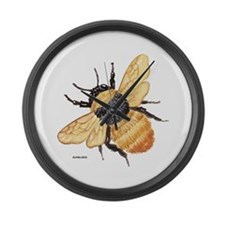 Bumblebee Insect Large Wall Clock