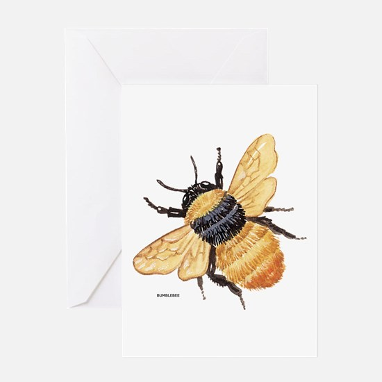 Bumblebee Insect Greeting Card