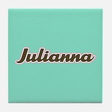 Julianna Aqua Tile Coaster