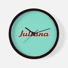 Juliana Aqua Wall Clock