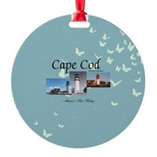 Cape Cod Americasbesthistory.com Round Ornament