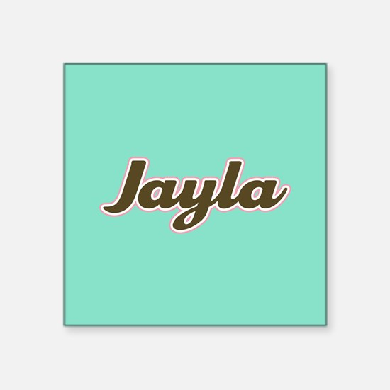 Jayla Aqua Sticker