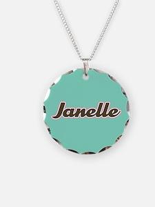 Janelle Aqua Necklace