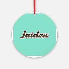 Jaiden Aqua Ornament (Round)