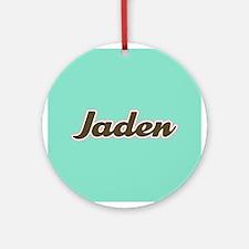 Jaden Aqua Ornament (Round)