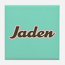 Jaden Aqua Tile Coaster