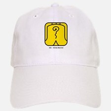 Yellow Warrior Baseball Baseball Cap
