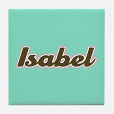 Isabel Aqua Tile Coaster