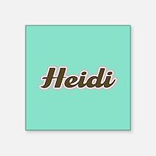 Heidi Aqua Sticker