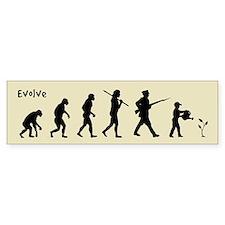 EVOLVE - Peace Bumper Bumper Sticker
