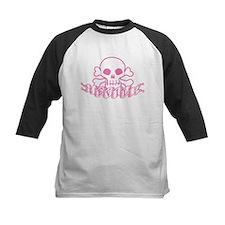 Pink Evil Skull Tee