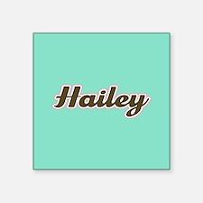 Hailey Aqua Sticker