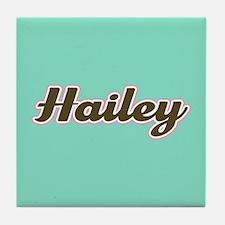 Hailey Aqua Tile Coaster