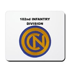 102ND INFANTRY DIVISION Mousepad