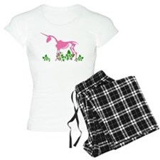 Pink Unicorn Skeleton Pajamas