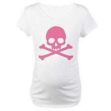 Pink Skull And Crossbones Shirt