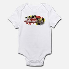 MARYLAND BLUE CRAB Infant Bodysuit