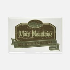 White Mountains: Get Back to Nature Rectangle Magn
