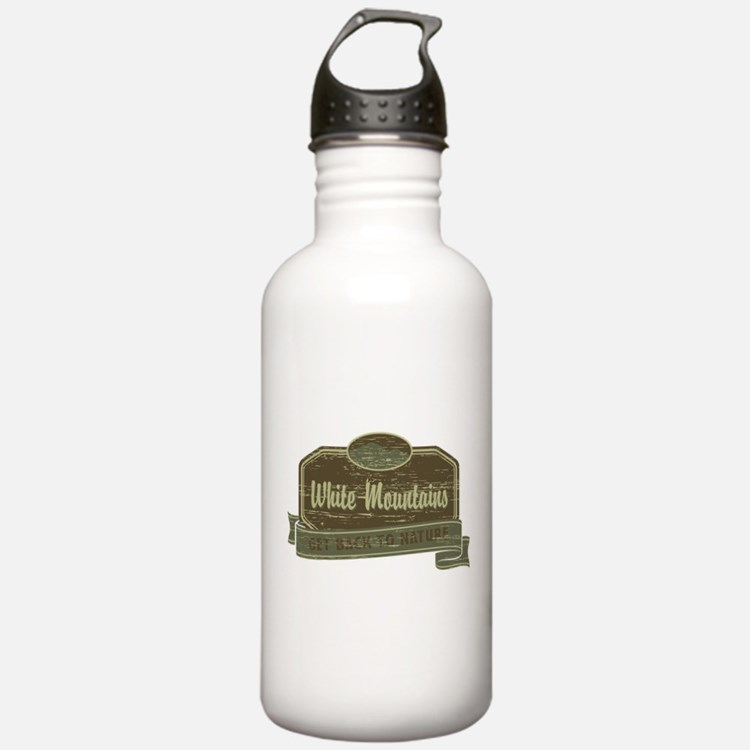 White Mountains: Get Back to Nature Water Bottle