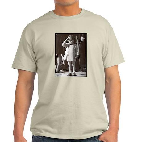 JFK Jr. Ash Grey T-Shirt