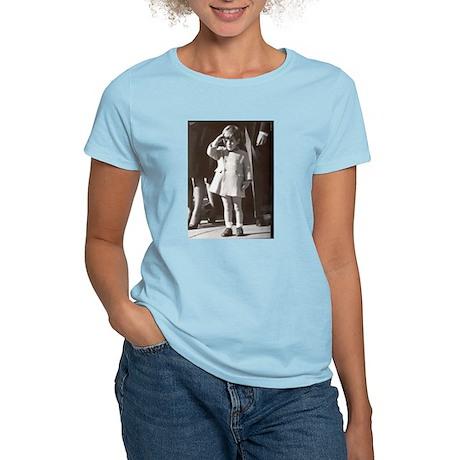 JFK Jr. Women's Pink T-Shirt