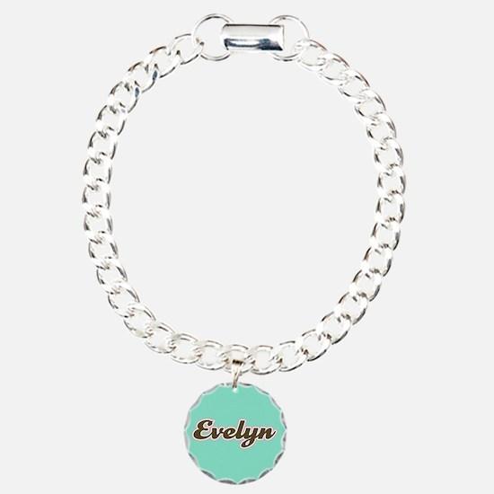 Evelyn Aqua Bracelet