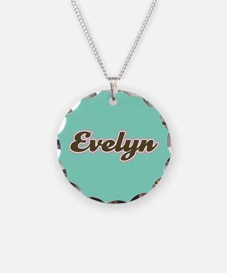 Evelyn Aqua Necklace
