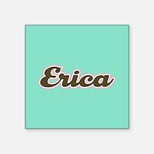 Erica Aqua Sticker